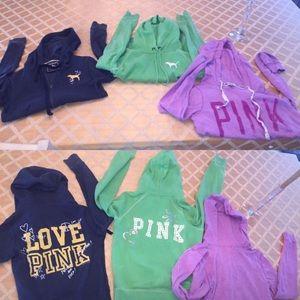 Pink VS Sweatshirts